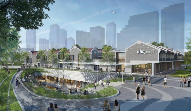 [上海]华润苏河湾公园商业空间设计文本