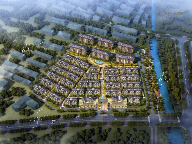 济宁豪宅项目建筑方案设计文本(洋房+合院)