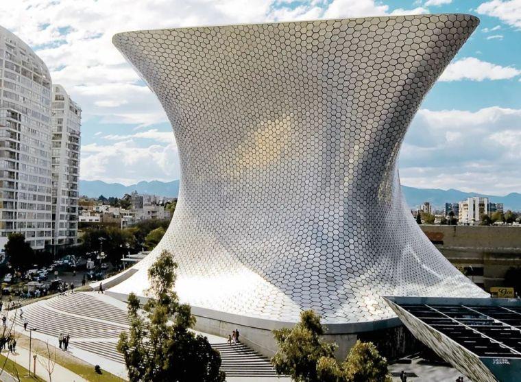 墨西哥城索玛亚博物馆建筑设计 | FR-EE