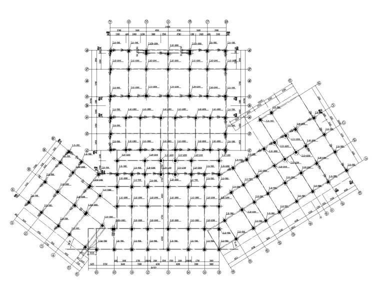某十二层商业框架剪力墙结构施工图(CAD)