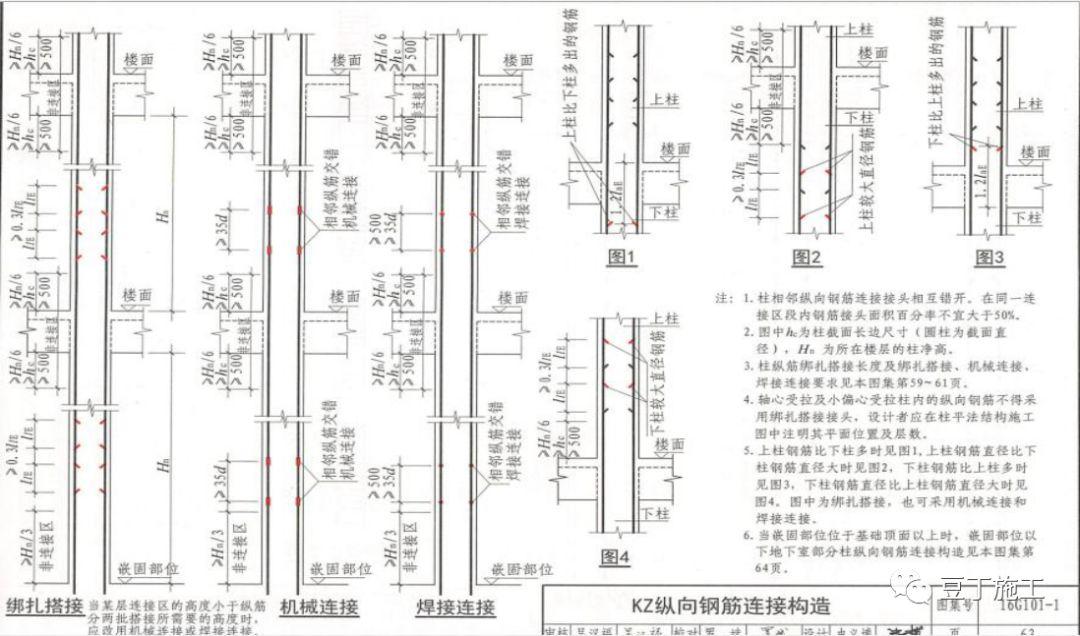 学透16G-101图集构造,超实用!_10
