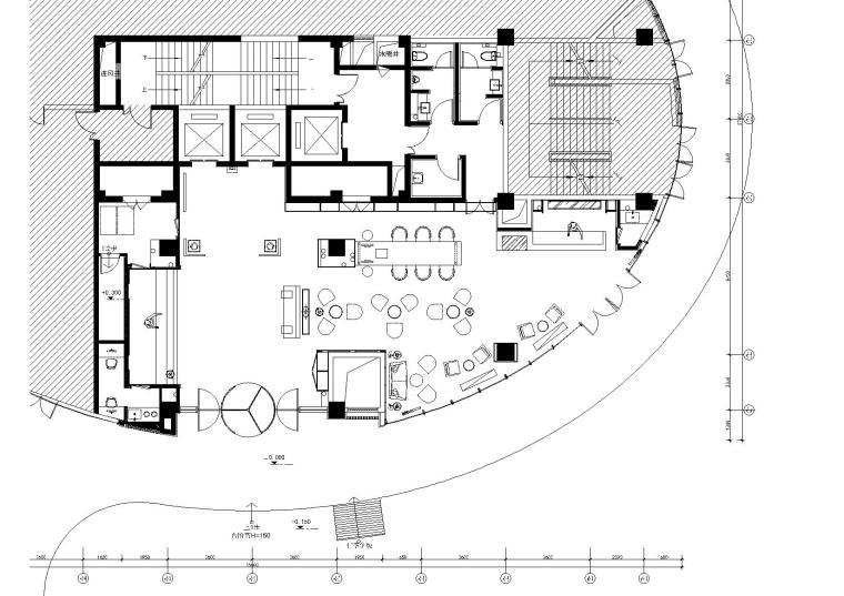 亚朵酒店烟台店项目施工图+效果图