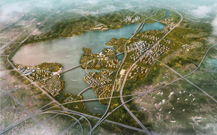 湖南岳阳城陵矶芭蕉湖总体概念规划