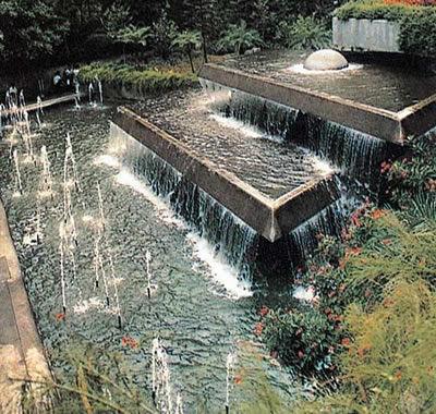 水景设计之跌水景观三种形式 养花人