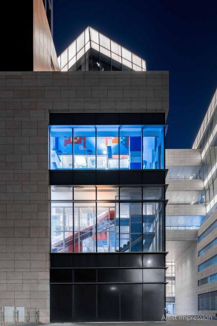 建筑设计风与游乐园的完美融合,高级感十足