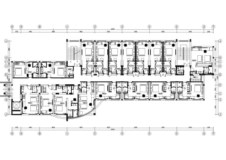 [杭州]-亚朵酒店黄龙体育中心项目施工图