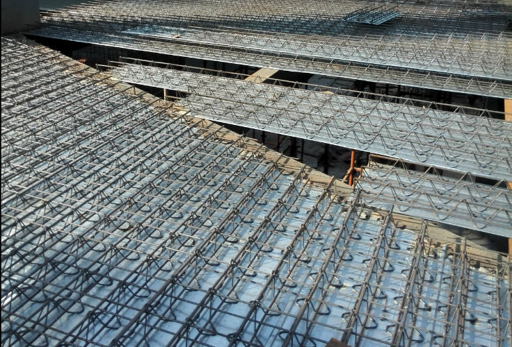 [QC成果]可回收底模钢筋桁架楼承板施工工艺
