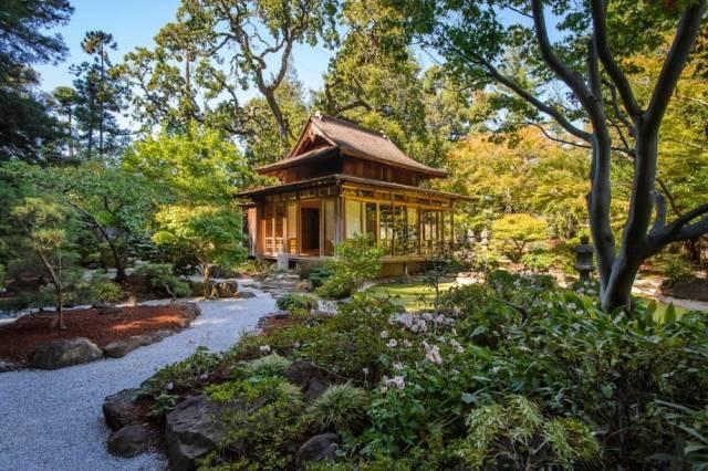 充满禅意的日式园林