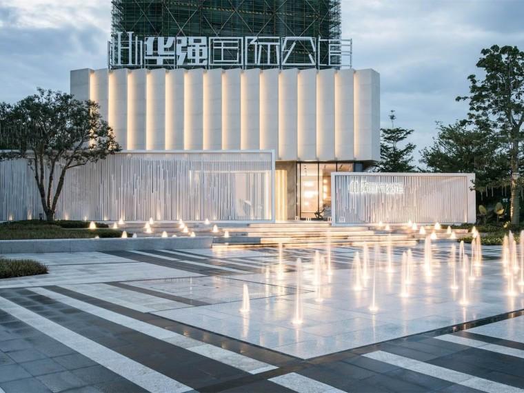 江门华强国际公馆示范区景观