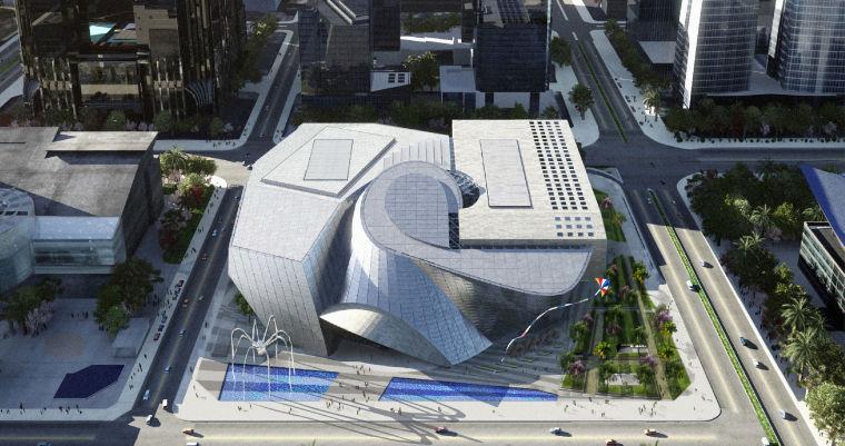 [深圳]综合性文化场馆工程钢筋桁架楼板施工专项方案