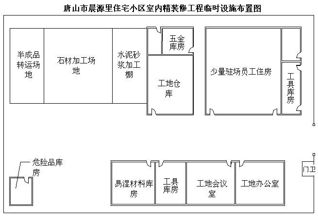 [唐山]住宅小区室内精装修工程技术标208页