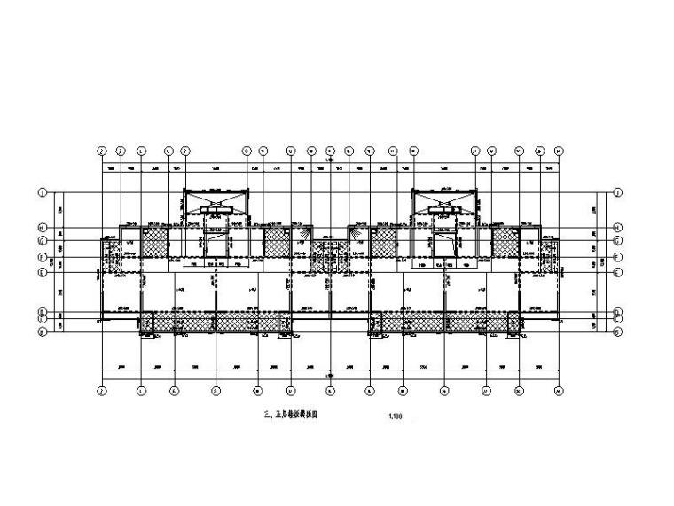 绿建 6层住宅楼剪力墙结构施工图2018_含建