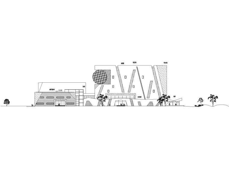[江西]博物馆-鹰潭城市馆投标方案_CAD图纸