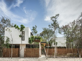 墨西哥卡阿图卢姆住宅区