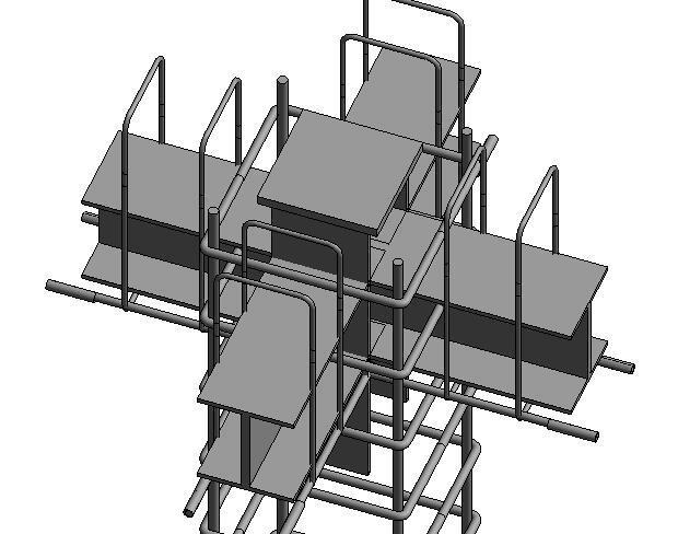 基于BIM下装配式框架结构施工模拟(42页)