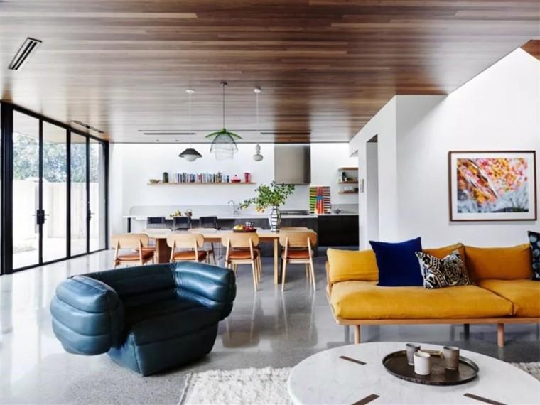 充满现代简约风格的居住空间