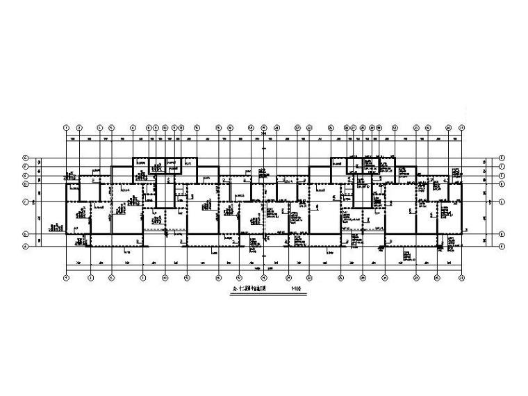 18层住宅楼剪力墙结构施工图2018_含建筑