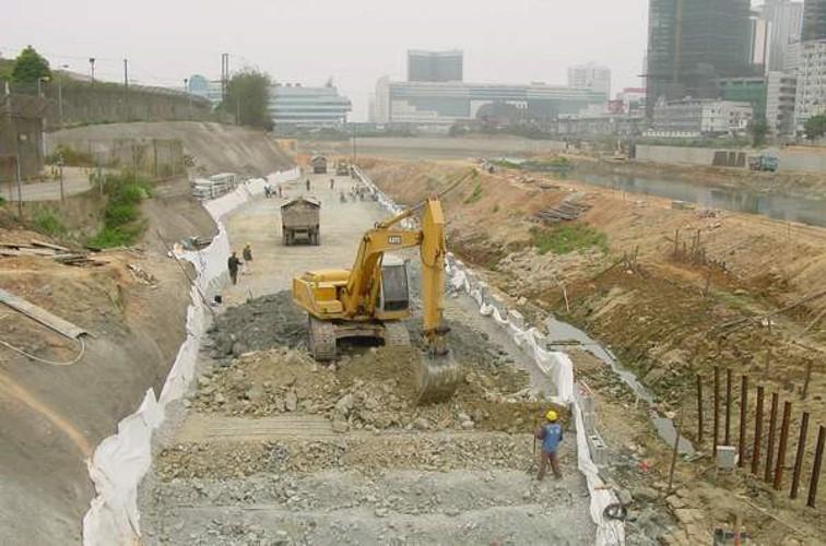换土垫层法地基处理垫层设计及垫层施工