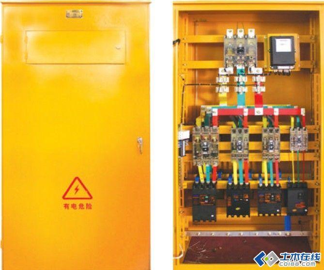 三级配电二级保护一机一闸一漏一箱配电箱