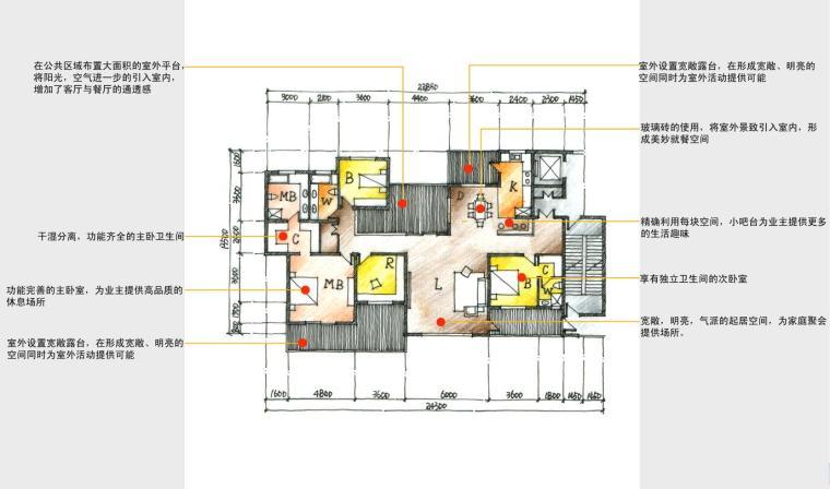 小高层(8层-15层)四室及以上户型设计图