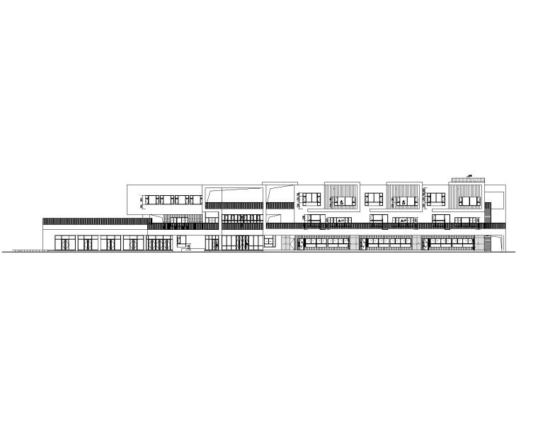 绿色设计|3层框架结构幼儿园建筑施工图2018