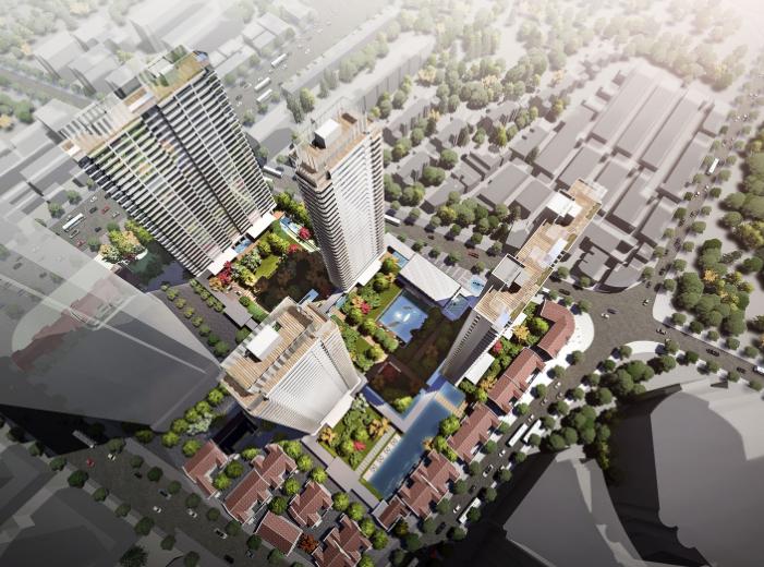上海静安区超高层豪宅项目投标文本(水石)
