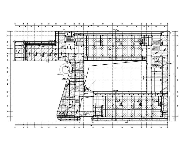 绿建|3层装配式框架幼儿园结构施工图2018