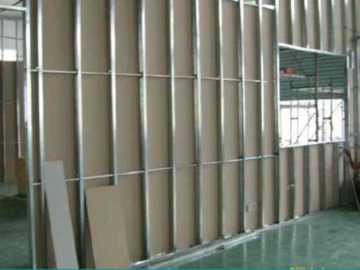轻钢龙骨隔墙工程施工技术交底