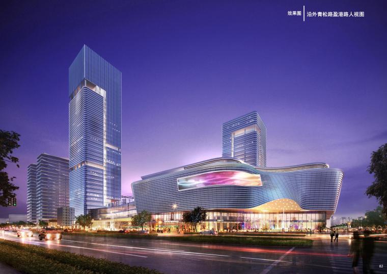 上海青浦区夏阳街道盈港路北侧地块规划方案