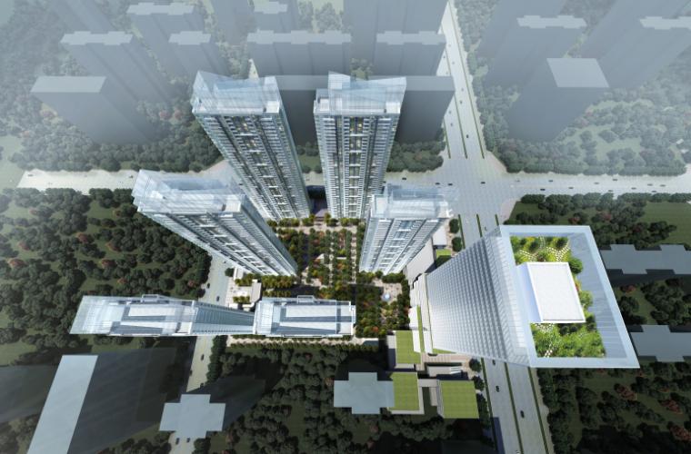 郑州大学路淮河路地铁上盖项目概念方案TOD