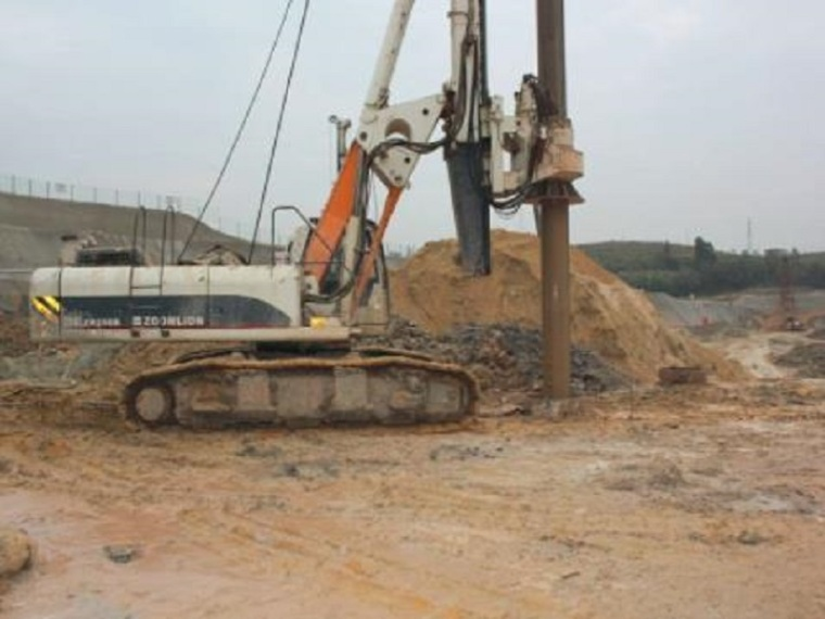 旋挖钻孔灌注桩基础施工方案(清楚明了)