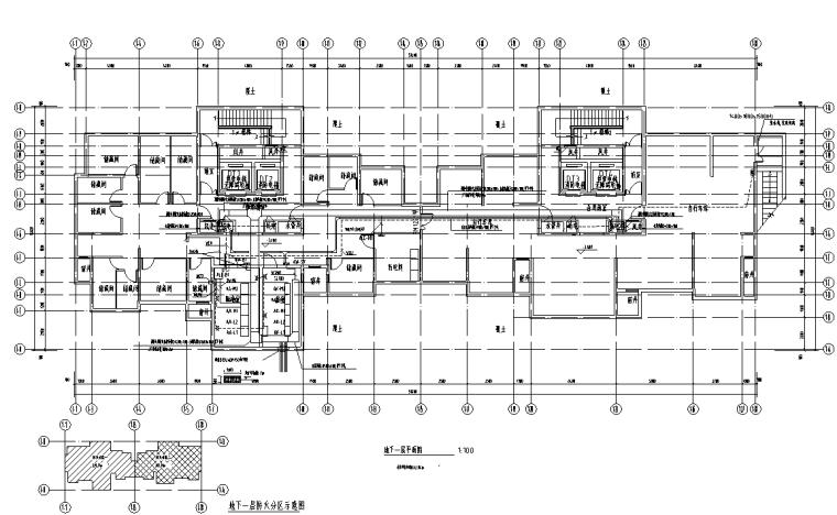 安徽棚户区改造商业及住宅电气施工图