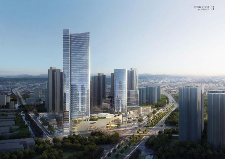 佛山市顺德区陈村TOD项目概念规划建筑方案