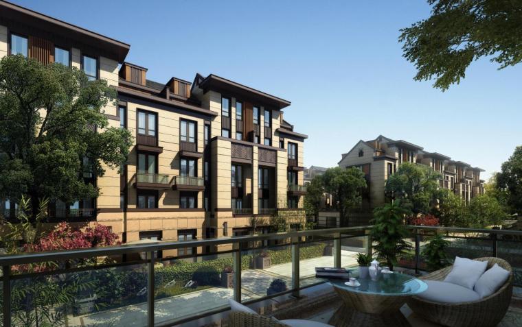 [上海]新中式风格住宅建筑方案文本