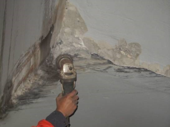 桥梁混凝土破损修补施工工序及施工工艺