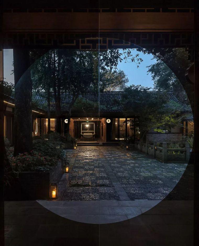 中式设计,就是这么美|人,建筑和自然的完美_14