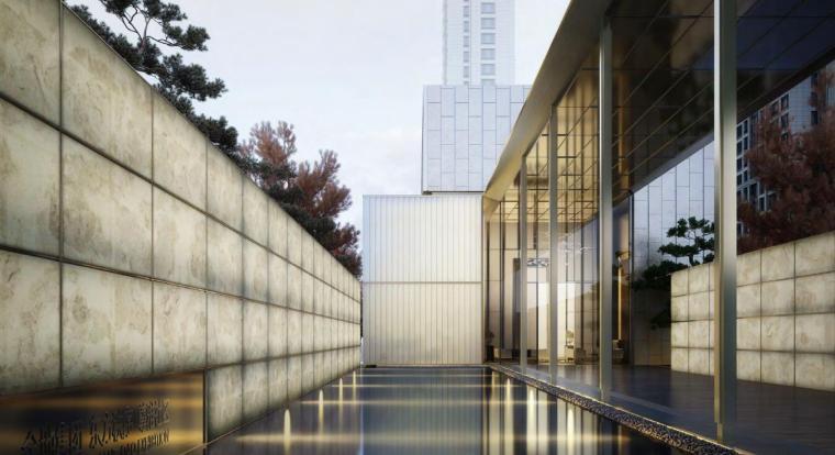 高层洋房新古典售楼处立面设计导则标准化