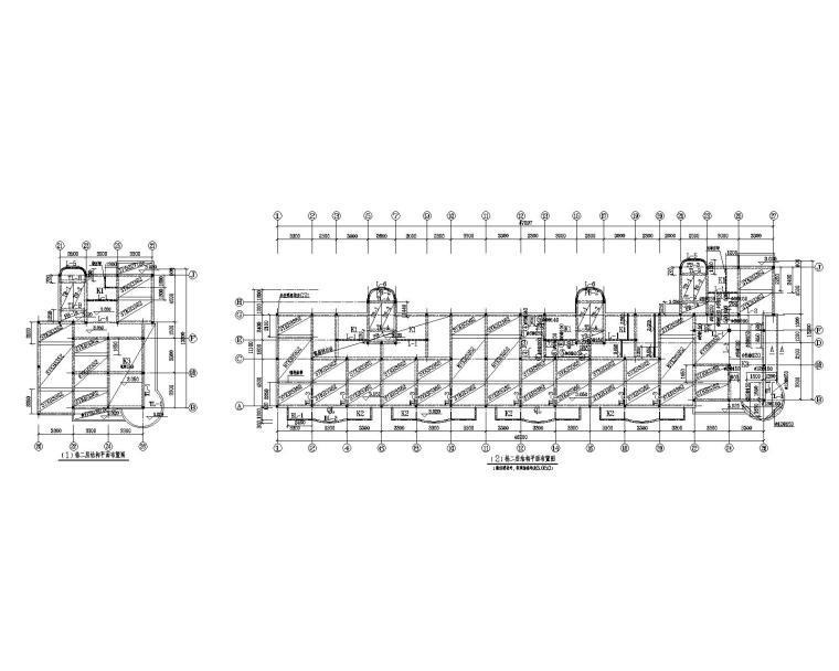 某七层学生宿舍楼混凝土结构施工图(CAD)
