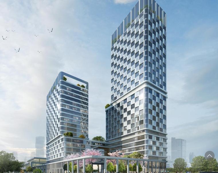 [北京]现代风格商务办公建筑方案文本