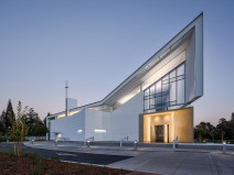 美国北美烈士的耶稣会高中礼拜堂