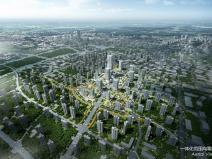 成都新川科技园南站大型TOD项目一体化设计
