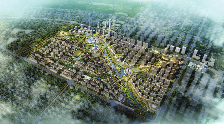 武汉柏林地铁小镇TOD概念规划及启动区建筑