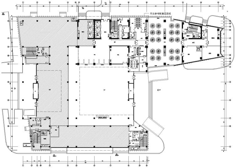 [北京]中化六建总部科研大楼施工图+效果图
