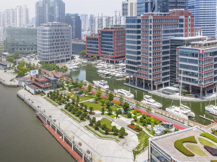 上海北外滩滨江山地景观