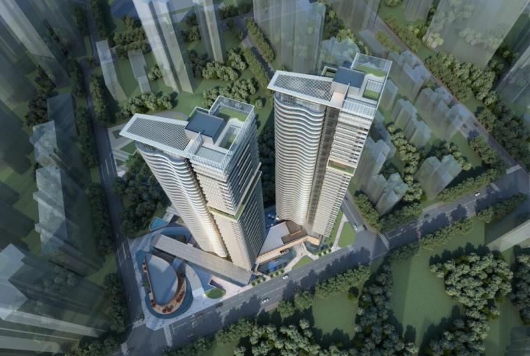 [广东]深圳侨城·华府超高层豪宅投标方案