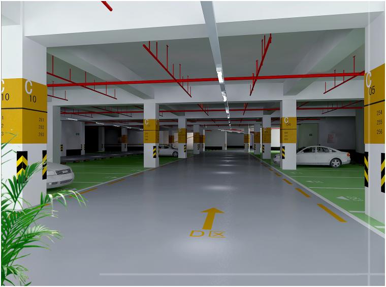 [海口]地下车库系统环氧地坪施工组织设计