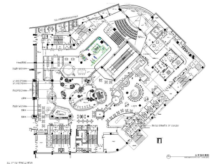 桃桃城堡亲子乐园_长春环球广场店CAD施工图