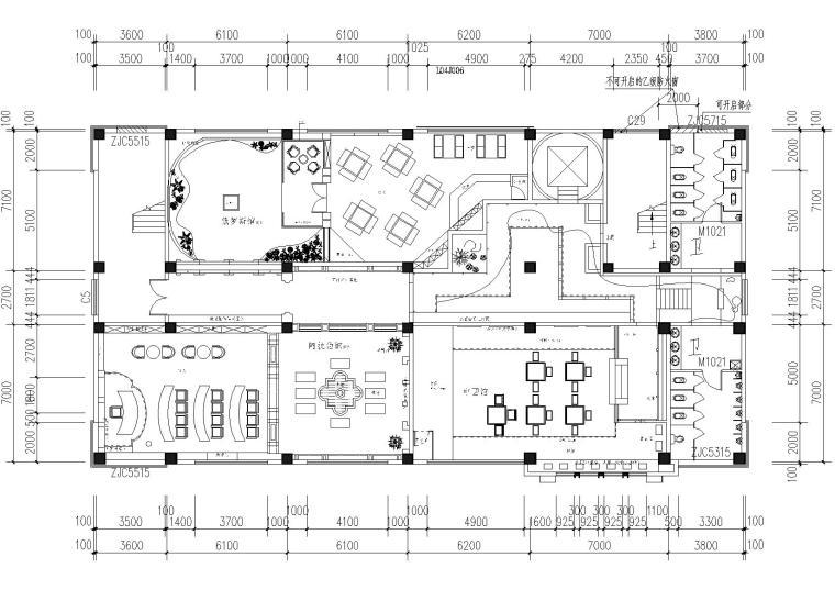 [山东]赛森_外国语职业学院施工图+3D源文件