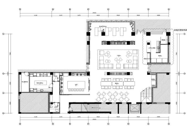 民宿-上海城家客房户型施工图+效果图