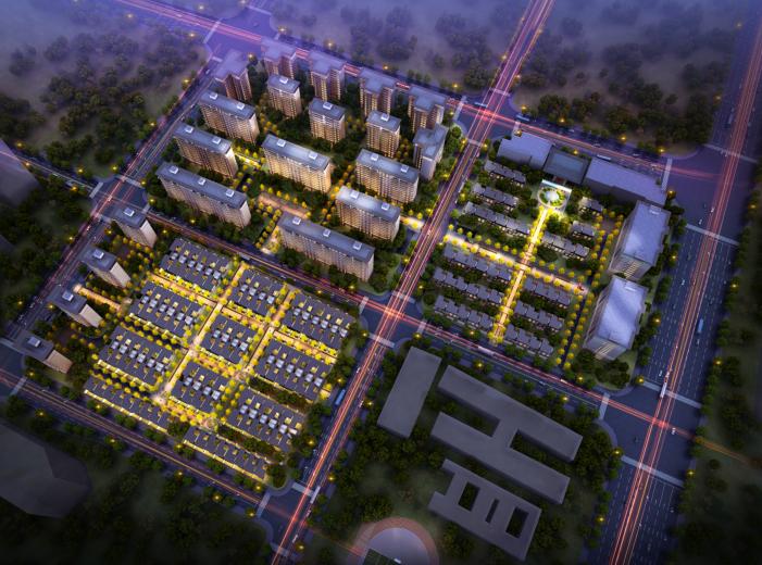 武侯新城157亩项目概念规划方案文本(HZS)